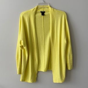 Ann Taylor yellow cardigan